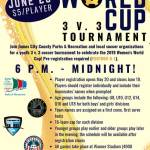 World Cup 3 v. 3 Youth Soccer Tournament - Sign them up!