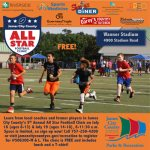 FREE - All Stars Football Camp Clinic! July 18 (ages 8 - 13)  & July 19 (ages 14 - 18) - Sign up!
