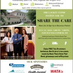 Lackey Clinic Share the Care Event! Free event for adults without Medical Insurance on July 25