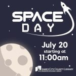 Space Day is June 20th at the JCC Library! Bring the Kids!!