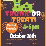 WISC Trunk or Treat - Oct. 26