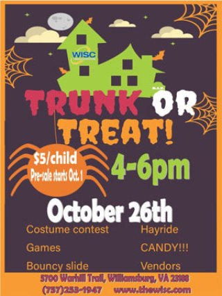 WISC Trunk or Treat