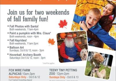 Yankee Fall Fun Weekends