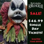 Check Out Latest Busch Gardens Discounts including Howl-O-Scream and Christmas Town