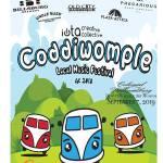 Coddiwomple 2019 is Saturday Sept 7, 2019