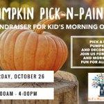 Pumpkin Pick-N-Paint