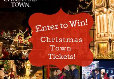 enter to win christmas town tickets