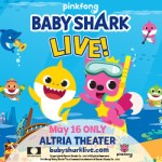 Baby Shark Comes to Richmond's Altria Theater ONE NIGHT ONLY- Get Presale Tickets Here...