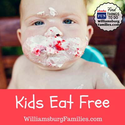 kids eat free williamsburg