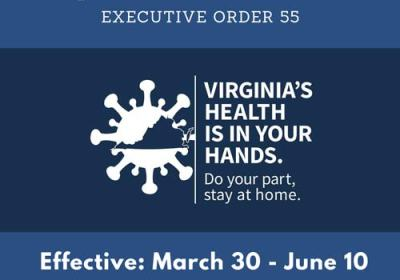 Stay-at-home-order-virginia-executive-order-55