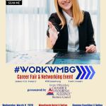 Career Fair & Networking Events - Wed., March 11, 2020 from 9 am - 2 pm