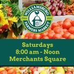 Williamsburg Farmers Market is back on Duke of Gloucester St. with online ordering still an option