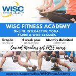 WISC Fitness Academy has gone Viral! Get great WISC fitness classes online!