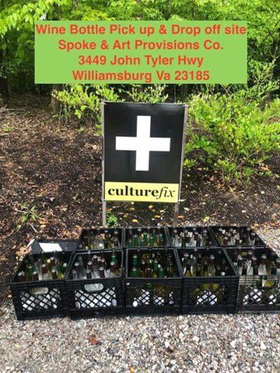 wine bottle art project drop off culturefix