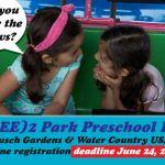 FREE Busch Gardens  - Preschool Pass 2020