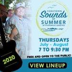 Summer 2020 - Yorktown Sounds of Summer at the Riverwalk -Thursday Outdoor Concerts