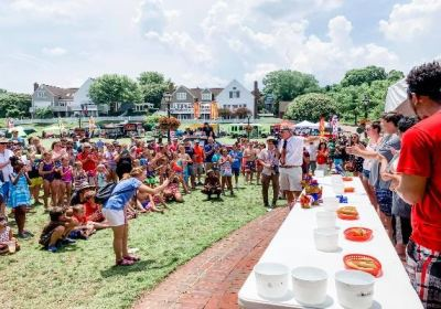 yorktown hot dog eating contest