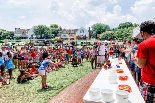 yorktown hot dog eating contest