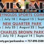 Movies in the Park - Free Outdoor Summer Movies in York County Parks - see the list: