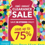 Yankee Candle is OPEN and having their Semi-Annual Sale with 75% off!