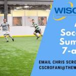 Adult soccer and summer 7-a-side leagues are now running! – Learn more: