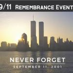 9.11 Remembrance Events - Sept 11, 2020