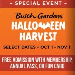 busch gardens halloween harvest