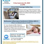 Safe Kids Community Forum - Car Seat Safety & COVID-19 in Children