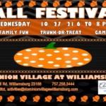 Free Fall Festival at Dominion Village