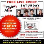 The Williamsburg Antique Mall, The Virginia Opera & The Williamsburg Symphony Orchestra FREE Live Event