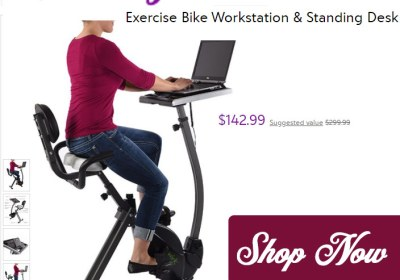 zulily-shop-exercise-bike