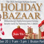 Holiday Bazaar to Benefit Local Homeless Pets  on Nov. 20