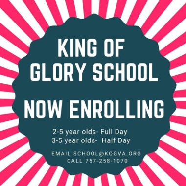 king of glory enrolling