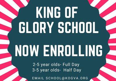 king of glory enrolling