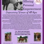Horses Offering Person Empowerment (HOPE) empowering Women of All Ages - Dream Catchers - registering!
