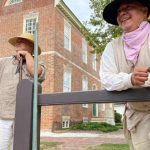 American Indian Life Series on Charlton Stage in Colonial Williamsburg - catch a show!