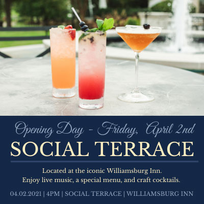 Social-Terrace colonial williamsburg