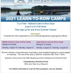Learn-To-Row Summer Camps with Williamsburg Boat Club