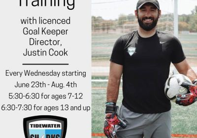 goal keeper training at the wisc