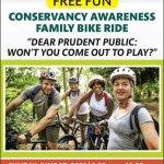 Conservancy Awareness Free Family Bike Ride - Sunday, June 27 - Register Here!