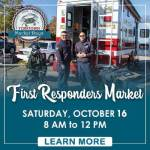 First Responders Market at the Yorktown Market Days is Saturday October 16th!
