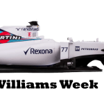 Williams Week – 11th May 2015