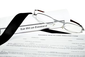 Advance care directive, enduring power of attorney and wills.
