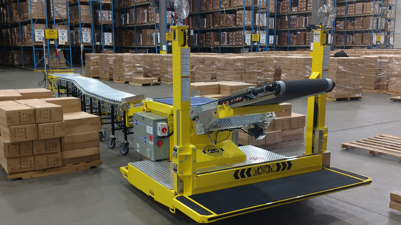 Destuff-IT Ergonomic Articulating Conveyor
