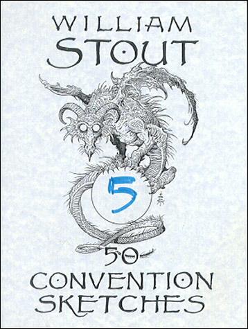 50 Convention Sketches - Volume 5