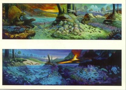 Life Before Dinosaurs Postcard