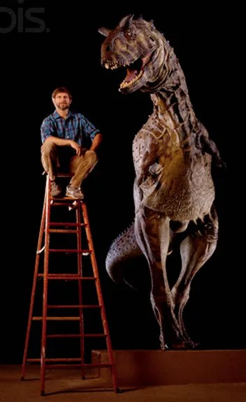 Stephen and Carnotaurus