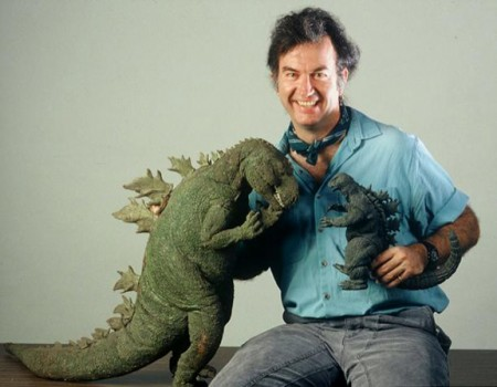 The New Godzilla meets the Old Godzilla
