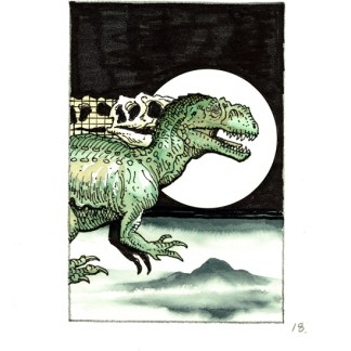 Jurassic Park Ad Rough #18