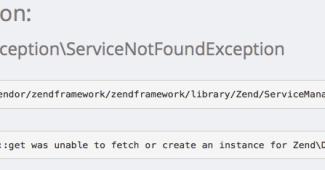 Captura de tela do erro em Adapter